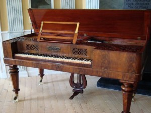 the Collard & Collard piano